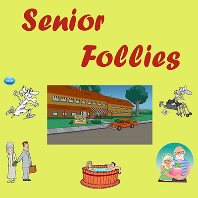 Senior Follies Banner