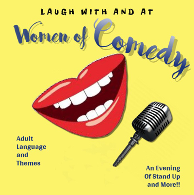 Laugh with and at Women of Comedy Show Poster