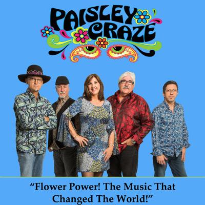 Paisley Craze Show Poster