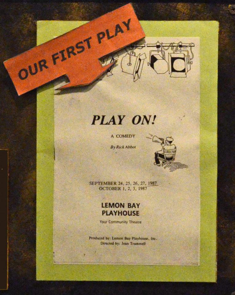 poster advertising for our first play