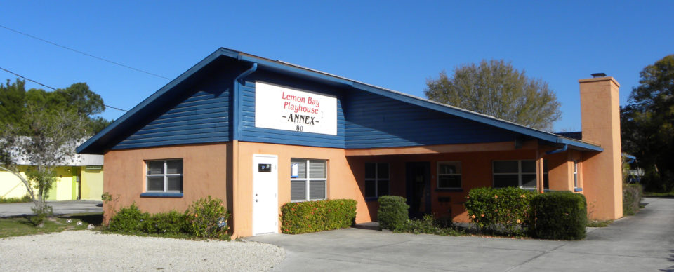 single story Lemon Bay Playhouse Annex Building