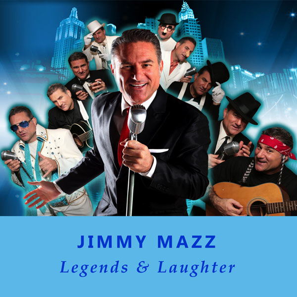 Jimmy Mazz (with band in background) - Legends & Laughter